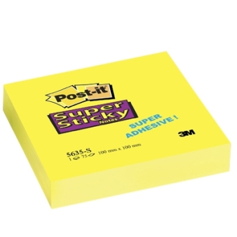 Bloczek S.STICKY 100x100 XL 5635-S POST-IT 3M