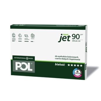 Papier xero A4 POLJET 90g International Paper 250 ark.