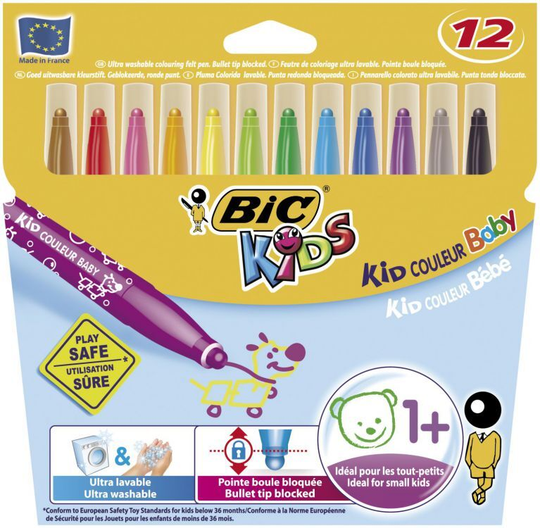 Flamastry BIC Kids Colour Baby