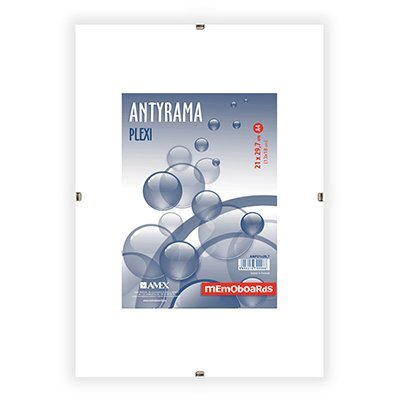 Antyrama plexi 280x350 mm MEMOBOARDS
